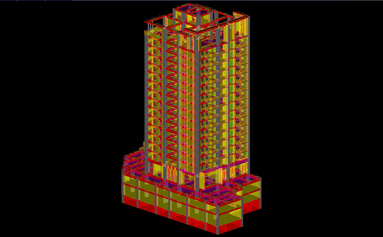 BIM結構模型