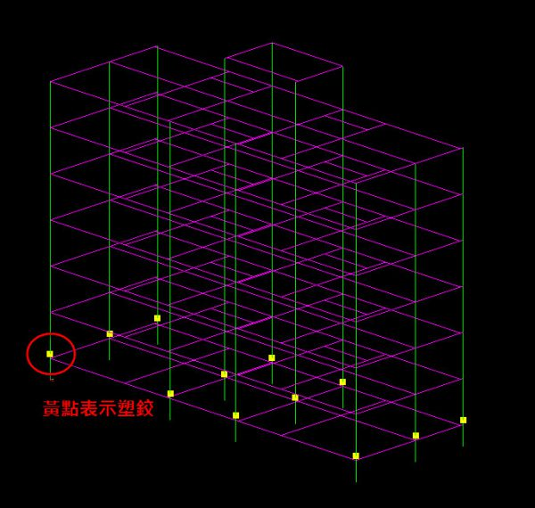 層剪力-設定塑鉸-圖例